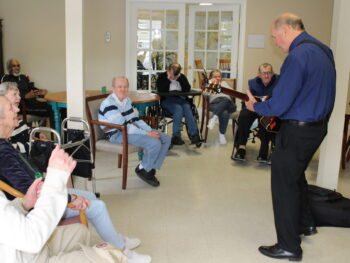 Old Glory Days Entertainment Activities for senior clients